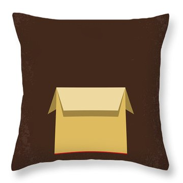 No233 My Seven Minimal Movie Poster Throw Pillow