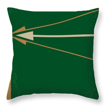 No237 My Robin Hood Minimal Movie Poster Throw Pillow by Chungkong Art