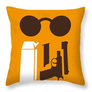 No239 My Leon Minimal Movie Poster Throw Pillow by Chungkong Art