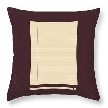 No247 My American History X Minimal Movie Poster Throw Pillow
