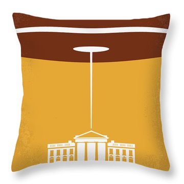 No249 My Independence Day Minimal Movie Poster Throw Pillow by Chungkong Art