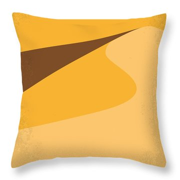 No251 My Dune Minimal Movie Poster Throw Pillow by Chungkong Art