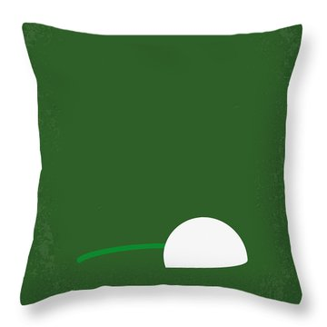 No256 My Happy Gilmore Minimal Movie Poster Throw Pillow