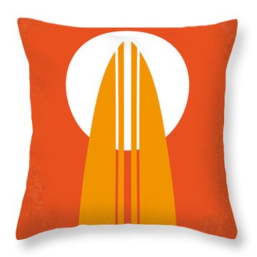 No274 My The Endless Summer Minimal Movie Poster Throw Pillow