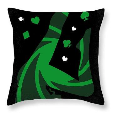 No277-007-2 My Casino Royale Minimal Movie Poster Throw Pillow