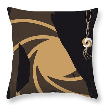 No277-007-2 My Quantum Of Solace Minimal Movie Poster Throw Pillow