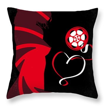No277-007 My From Russia With Love Minimal Movie Poster Throw Pillow
