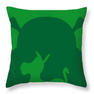 No280 My Shrek Minimal Movie Poster Throw Pillow