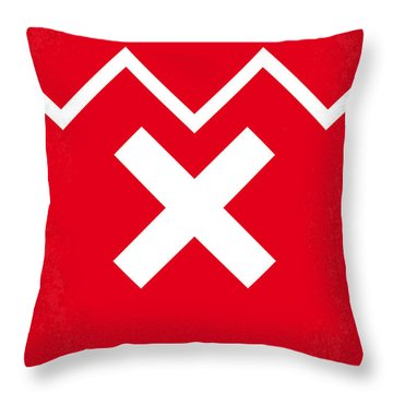 No304 My Sin City Minimal Movie Poster Throw Pillow