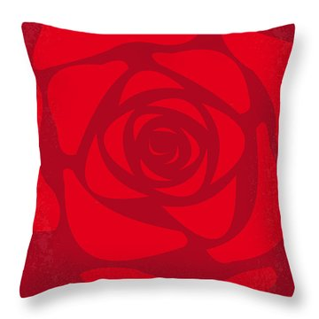 No313 My American Beauty Minimal Movie Poster Throw Pillow