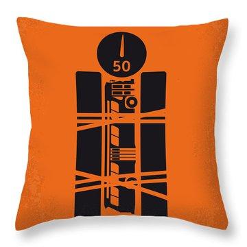 No330 My Speed Minimal Movie Poster Throw Pillow
