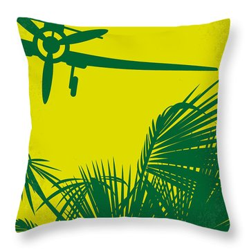 No335 My Pearl Harbor Minimal Movie Poster Throw Pillow