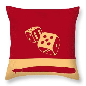 No348 My Casino Minimal Movie Poster Throw Pillow