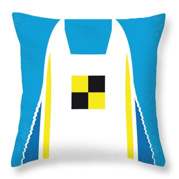Powerboat Throw Pillows