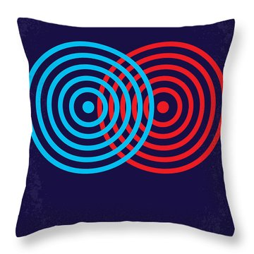 No357 My Tron Minimal Movie Poster Throw Pillow