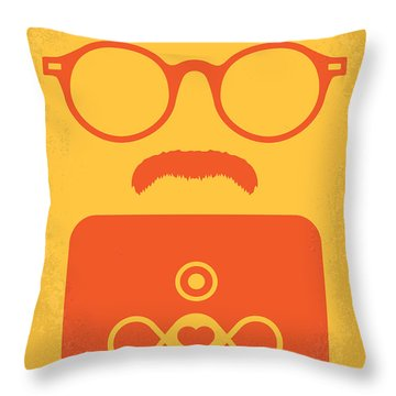 No372 My Her Minimal Movie Poster Throw Pillow