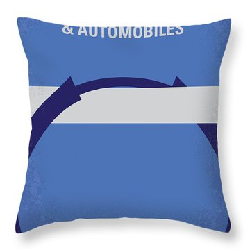 No376 My Planes Trains And Automobiles Minimal Movie Poster Throw Pillow