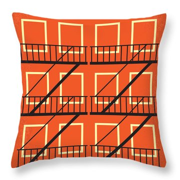 No387 My West Side Story Minimal Movie Poster Throw Pillow