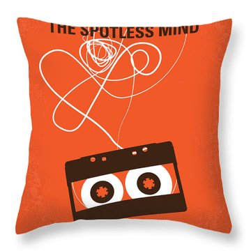 No384 My Eternal Sunshine Of The Spotless Mind Minimal Movie Pos Throw Pillow