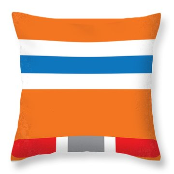 No411 My The Cannonball Run Minimal Movie Poster Throw Pillow