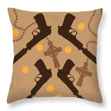 No419 My Boondock Saints Minimal Movie Poster Throw Pillow by Chungkong Art