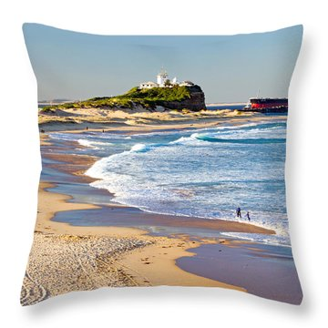 Nobby's Head 1 Throw Pillow