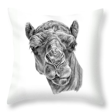 Noble One Throw Pillow
