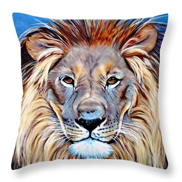 Noble Pride Throw Pillow
