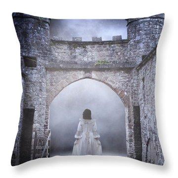 Noctambulism Throw Pillow by Joana Kruse