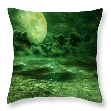 Nocturnal Throw Pillow by Ester  Rogers
