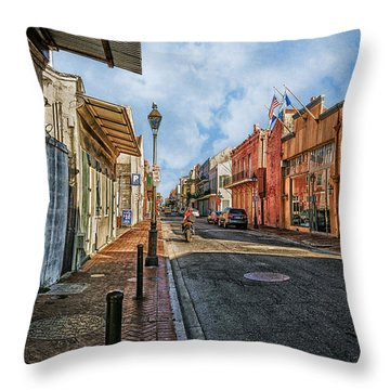 Nola French Quarter Throw Pillow by Sennie Pierson