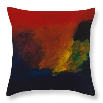 Nolde Homage 1985 Throw Pillow
