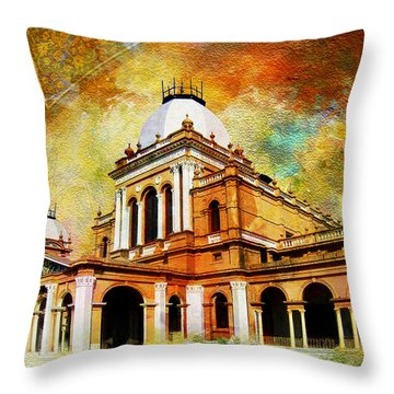 Noor Mahal Throw Pillow by Catf