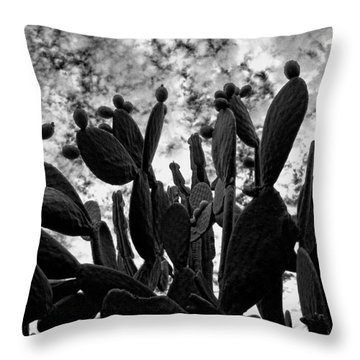 Nopalera Throw Pillow