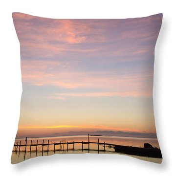 Nordic Light Throw Pillow