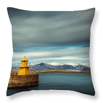 Nordurgardi Throw Pillow