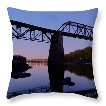 Twilight Crossing Throw Pillow