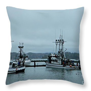 Norma M And Friends Throw Pillow