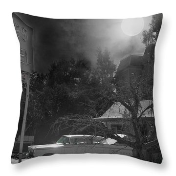 Norman Is Ready Throw Pillow