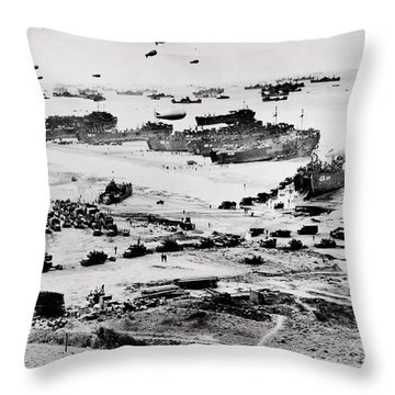 Normandy Throw Pillow by Benjamin Yeager