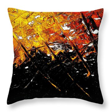 Normandy Throw Pillow by Jason Michael Roust