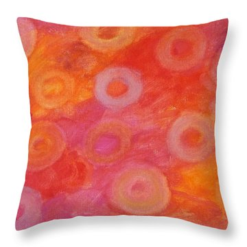 Normochromic Rbc's Throw Pillow