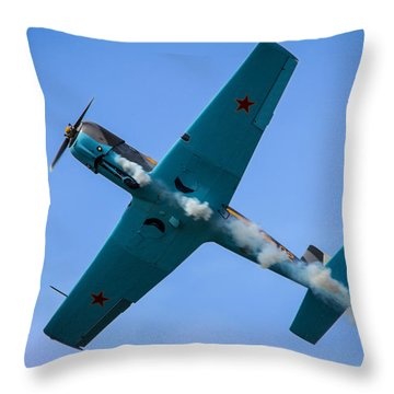Norteast Raiders At The Greenwood Lake Airshow 2012 Throw Pillow