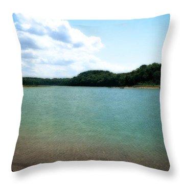 North Bar Lake - Sleeping Bear Dunes Throw Pillow