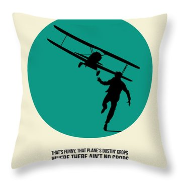 North By Northwest Poster 1 Throw Pillow