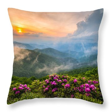 Dave Allen Throw Pillows
