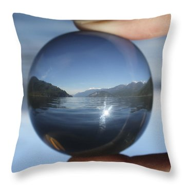 North Throw Pillow