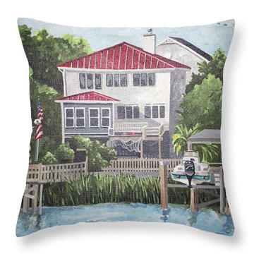 North Channel Throw Pillow