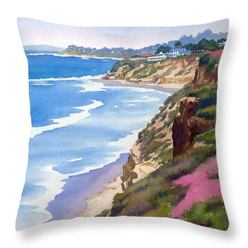 North Sea Throw Pillows