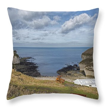 North Landing Throw Pillow